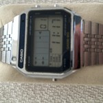 Casio GM-20 vintage LCD watch